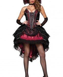 W303 Costum Halloween vampirita - Vrajitoare - Vampir - Haine > Haine Femei > Costume Tematice > Vrajitoare - Vampir