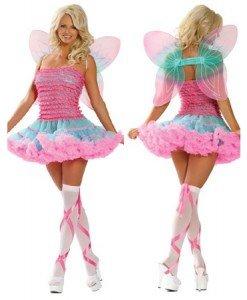 W73 Costum tematic Tinkerbell - Basme si Legende - Haine > Haine Femei > Costume Tematice > Basme si Legende