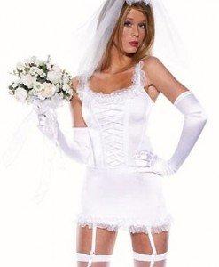 X128 Costum tematic mireasa sexy - Altele - Haine > Haine Femei > Costume Tematice > Altele
