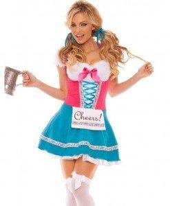 X211 Costum Tematic Chelnerita - Chelnerita - Haine > Haine Femei > Costume Tematice > Chelnerita