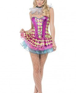 X302 Costum Halloween clovn - Altele - Haine > Haine Femei > Costume Tematice > Altele