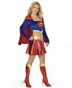 X46 Costum tematic Superwoman - Super Eroi - Haine > Haine Femei > Costume Tematice > Super Eroi