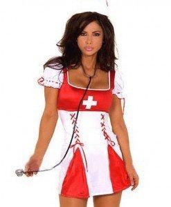 X72 Costum tematic asistenta medicala - Asistenta Medicala - Haine > Haine Femei > Costume Tematice > Asistenta Medicala