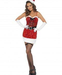 XM192 Costum de Craciunita - Costume de craciunita - Haine > Haine Femei > Costume Tematice > Costume de craciunita