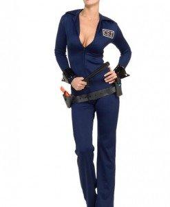 Y130 Costum Halloween politista - Politista - Gangster - Haine > Haine Femei > Costume Tematice > Politista - Gangster