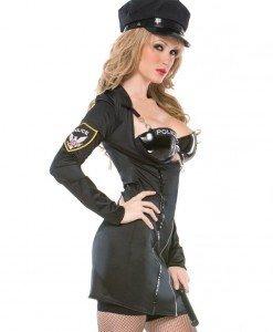Y139 Costum Halloween politista - Politista - Gangster - Haine > Haine Femei > Costume Tematice > Politista - Gangster
