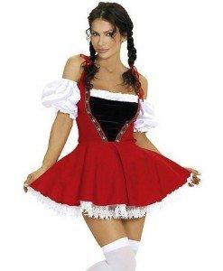 Y211 Costum tematic Halloween chelnerita - Chelnerita - Haine > Haine Femei > Costume Tematice > Chelnerita