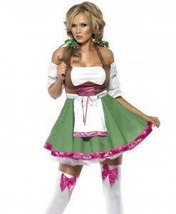 Y212 Costum tematic hangita - Chelnerita - Haine > Haine Femei > Costume Tematice > Chelnerita