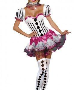 Y219 Costum Tematic clovn circ - Altele - Haine > Haine Femei > Costume Tematice > Altele