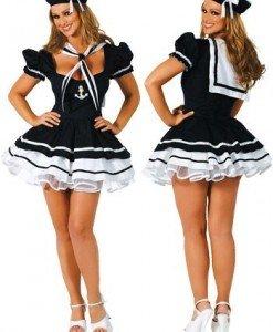 Z27 Costum tematic marinar - Armata - Marinar - Haine > Haine Femei > Costume Tematice > Armata - Marinar