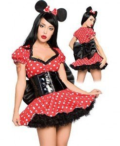 Z73 Costum tematic Minnie Mouse - Animalute - Haine > Haine Femei > Costume Tematice > Animalute