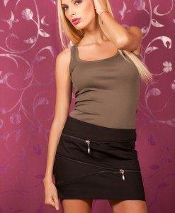 Zr59 Fusta cu Fermoare - Zara - Haine > Brands > Zara