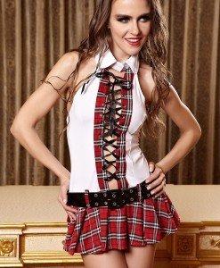 A409 Costum tematic scolarita - Scolarita - Haine > Haine Femei > Costume Tematice > Scolarita