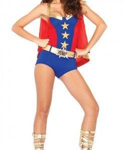 A426-43 Costum Halloween Super Erou benzi desenate - Super Eroi - Haine > Haine Femei > Costume Tematice > Super Eroi