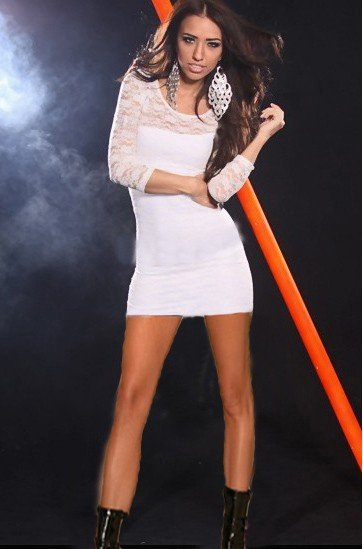B390-2 Rochie sexy cu dantela – Rochii de seara – Haine > Haine Femei > Rochii Femei > Rochii de seara