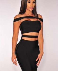 BAN370-1 Rochie sexy tip bandage