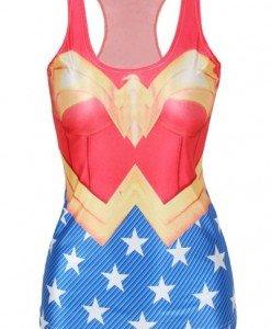 BL366 Maieu cu model Wonder Woman - Super Eroi - Haine > Haine Femei > Costume Tematice > Super Eroi