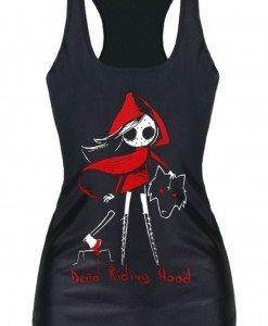 BL577 Maieu casual cu model Death Riding - Altele - Haine > Haine Femei > Costume Tematice > Altele