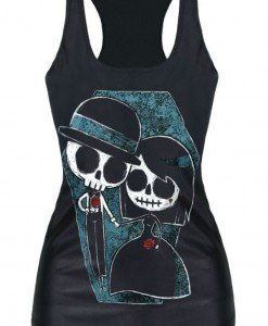 BL579 Maieu tematic Halloween - Till Death Do Us Part - Altele - Haine > Haine Femei > Costume Tematice > Altele