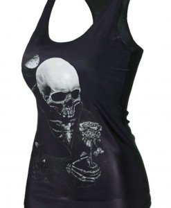 BL581 Maieu casual cu model anatomic craniu - Altele - Haine > Haine Femei > Costume Tematice > Altele