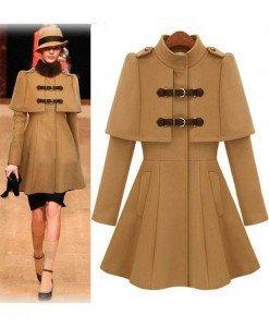 BL617-14 Palton model army - Geci si Paltoane - Haine > Haine Femei > Geci si Paltoane