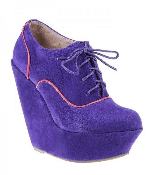 Botine Adnana mov – Home > Pantofi –