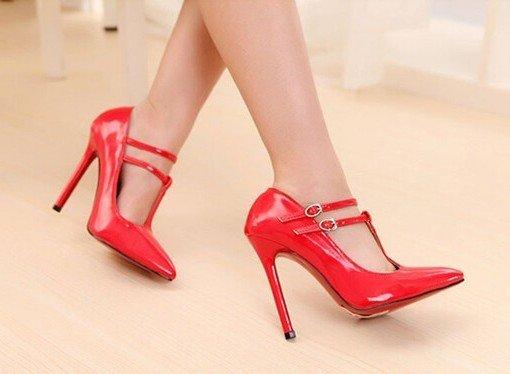 CH2254-3 Pantofi stiletto cu barete subtiri – Pantofi Dama – Incaltaminte > Incaltaminte Femei > Pantofi Dama