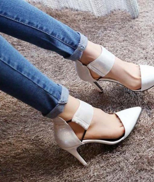 CH2321-2 Pantofi cu toc