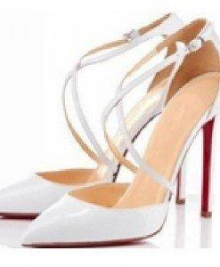 CH2323-2 Sandale stiletto cu barete subtiri in X - Sandale dama - Incaltaminte > Incaltaminte Femei > Sandale dama