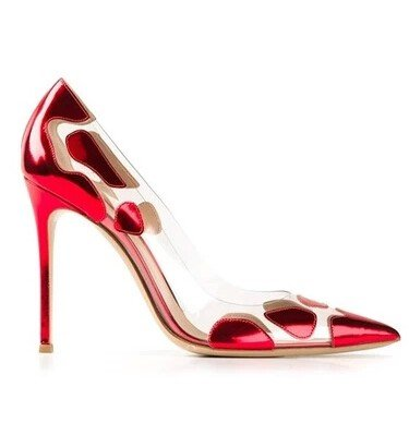CH2325-3 Pantofi stiletto cu model – Pantofi Dama – Incaltaminte > Incaltaminte Femei > Pantofi Dama