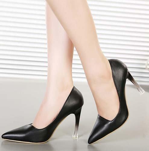 CH2326-1 Pantofi office cu varf ascutit si toc inalt – Pantofi Dama – Incaltaminte > Incaltaminte Femei > Pantofi Dama