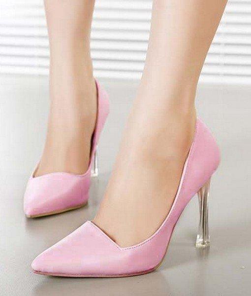 CH2326-5 Pantofi office cu varf ascutit si toc inalt – Pantofi Dama – Incaltaminte > Incaltaminte Femei > Pantofi Dama