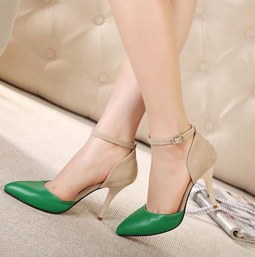 CH2343-12 Pantofi stiletto cu toc si bareta subtire – Pantofi Dama – Incaltaminte > Incaltaminte Femei > Pantofi Dama