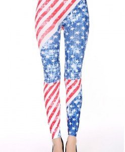 CL414 Colanti sexy cu model USA - Colanti - Haine > Haine Femei > Pantaloni Dama > Colanti