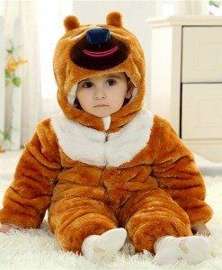 CLD54-8 Salopeta ursulet pentru copii - Costume tematice - Haine > Haine Copii > Costume tematice