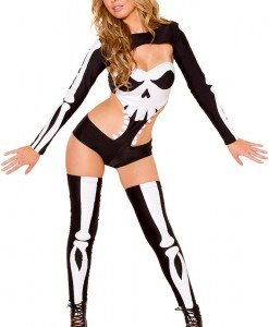 D413-1122 Costum tematic Halloween - Seductive Skeleton - Altele - Haine > Haine Femei > Costume Tematice > Altele