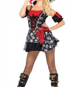 D423 Costum tematic Halloween - pirat sexy - Pirat - Haine > Haine Femei > Costume Tematice > Pirat
