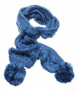 Fular Blue Winter - Home > Genti -