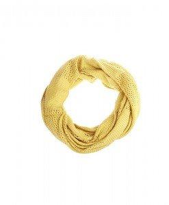 Fular circular Goldy yellow - Genti > Accesorii -