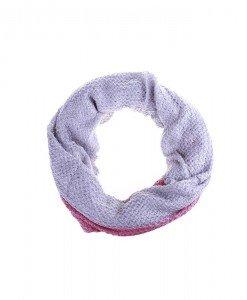 Fular circular Impa lila pink - Genti > Accesorii -