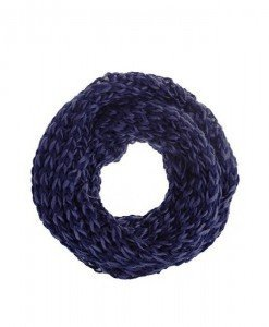 Fular circular Macy purple - Genti > Accesorii -