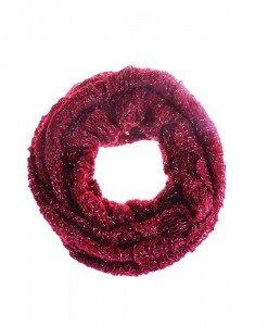 Fular circular Satya burgundy - Genti > Accesorii -