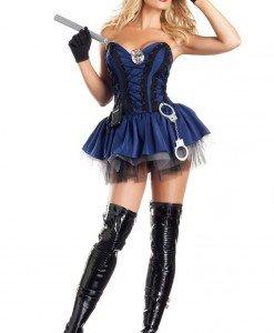 G325-44 Costum Halloween politista sexy - Politista - Gangster - Haine > Haine Femei > Costume Tematice > Politista - Gangster