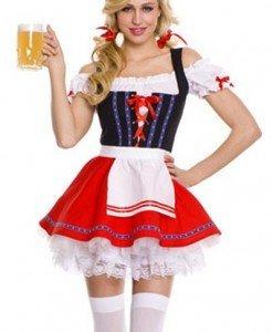G424 Costum tematic chelnerita Oktoberfest - Chelnerita - Haine > Haine Femei > Costume Tematice > Chelnerita