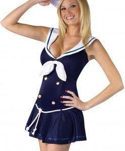 G425-4 Costum tematic marinar - Armata - Marinar - Haine > Haine Femei > Costume Tematice > Armata - Marinar