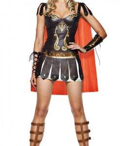 J139 Costum tematic razboinica - gladiatoare - Basme si Legende - Haine > Haine Femei > Costume Tematice > Basme si Legende