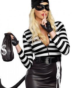 L411-1122 Costum tematic Halloween - Cat Burglar - Feline - Haine > Haine Femei > Costume Tematice > Animalute > Feline