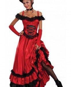 M161 Costum tematic Can-Can - Altele - Haine > Haine Femei > Costume Tematice > Altele