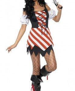 P165 - Costum tematic - pirat - Pirat - Haine > Haine Femei > Costume Tematice > Pirat