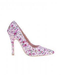 Pantofi Adria big flower - Home > Pantofi -